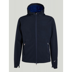 HELLY HANSEN - EQ BLACK MIDLAYER JACKET - 994 GRAPHITE BLU