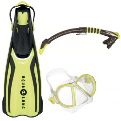 AQUA LUNG - SET DUET YELLOW...